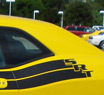 Racing Stripes With High Performance 2 mil Painted Vinyl