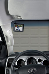"Reverse Camera with 3.5"" Dash Mounted Screen"